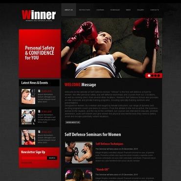 Sport Facebook HTML CMS Template