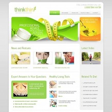 Weight Loss Moto CMS HTML Template