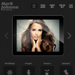 Photographer Portfolio Responsive WordPress Theme