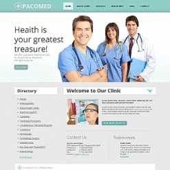 Rehabilitation Moto CMS HTML Template