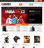 Games Responsive PrestaShop Theme