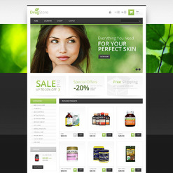 Drug Store Responsive PrestaShop Theme