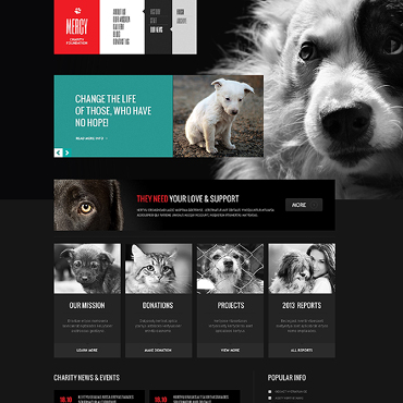Animal Shelter Responsive Joomla Template