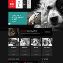 Animal Shelter Responsive Joomla Template