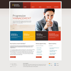 Management Company Responsive Joomla Template