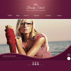 Beauty Salon Website Template