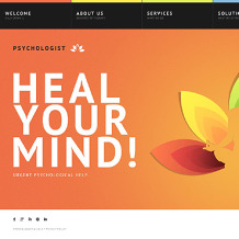 Psychologist Website Template