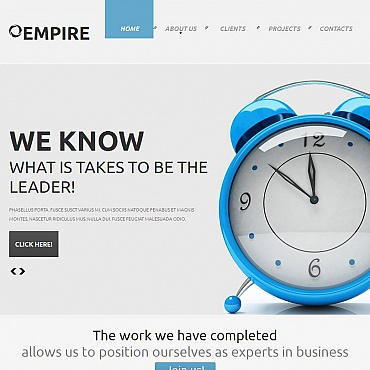 Marketing Agency Facebook HTML CMS Template
