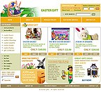 Easter Gifts Store Website Template