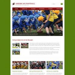 Football Responsive Website Template