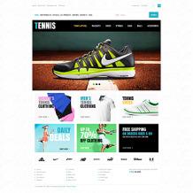 Tennis ZenCart Template