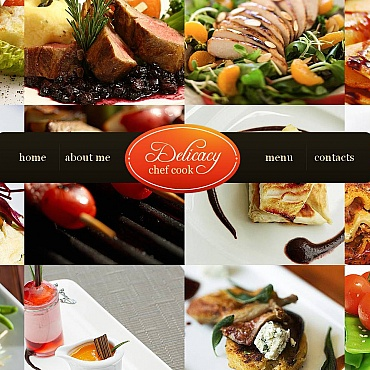 Chef Moto CMS HTML Template