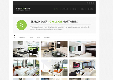 Real Estate Responsive Joomla Template