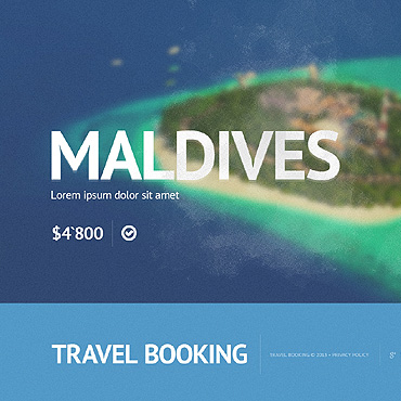 Travel Store Website Template