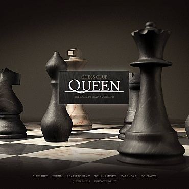 Chess Moto CMS HTML Template