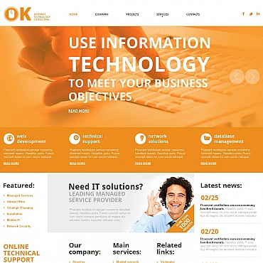 IT Moto CMS HTML Template