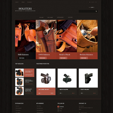 Gun Shop Responsive PrestaShop Theme