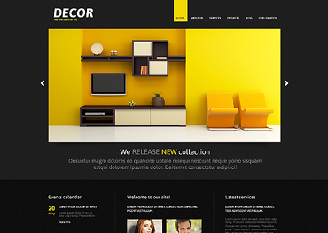 Home Decor Responsive Joomla Template #46635