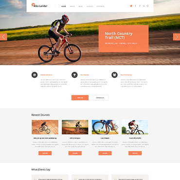 BMX Responsive WordPress Theme