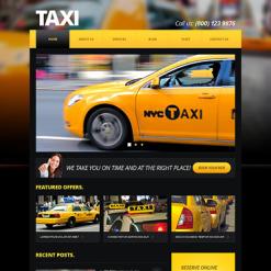 Taxi Responsive Joomla Template