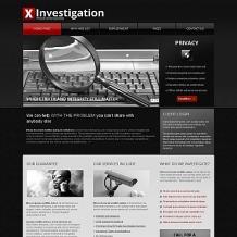 Private Investigator Moto CMS HTML Template