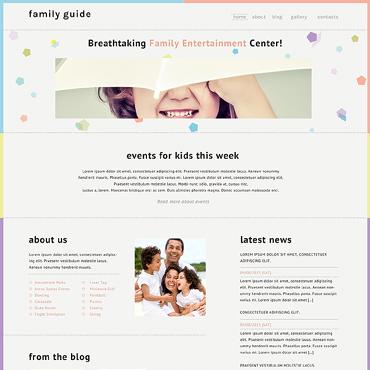 Family Center Responsive Website Template