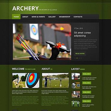 Archery Moto CMS HTML Template