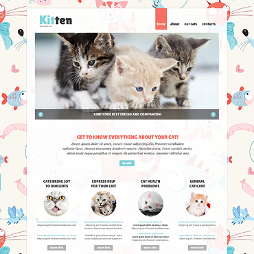 Cat Responsive Joomla Template