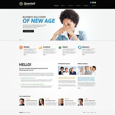 Outsourcing Company Responsive Joomla Template