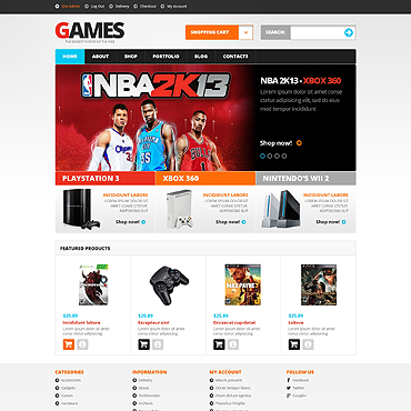 Games Responsive WooCommerce Theme