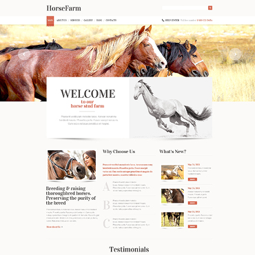 Horse WordPress Theme