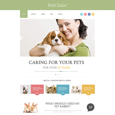Vet Responsive WordPress Theme