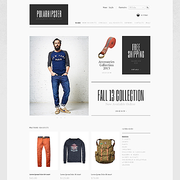 Fashion Store ZenCart Template
