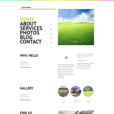 Landscape Design WordPress Theme