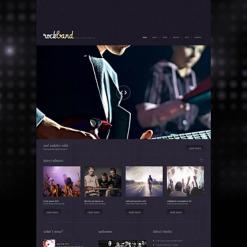 Music Band Responsive WordPress Theme