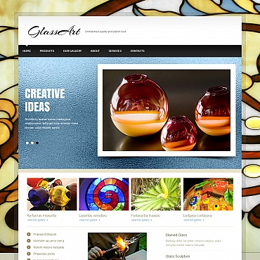 Art Web Moto CMS HTML Template