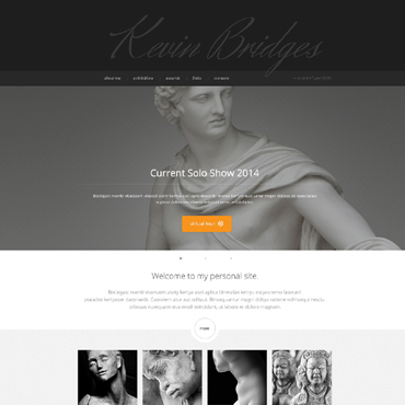 Sculpture Responsive Website Template