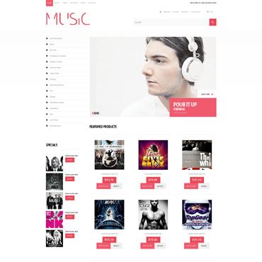 Music Responsive WooCommerce Theme