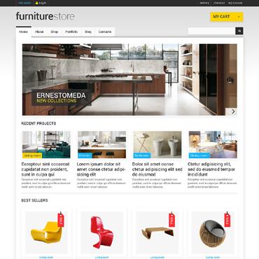 Furniture Responsive Jigoshop Theme