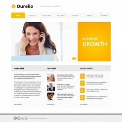 Consulting Moto CMS HTML Template