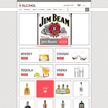 Food & Drink ZenCart Template