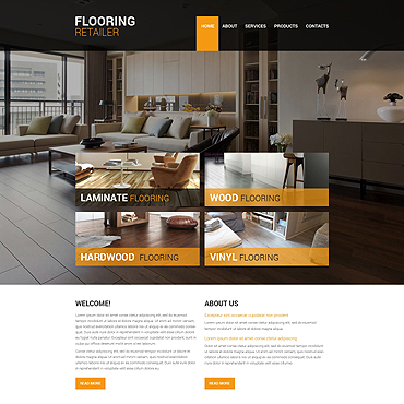 Flooring Responsive Website Template
