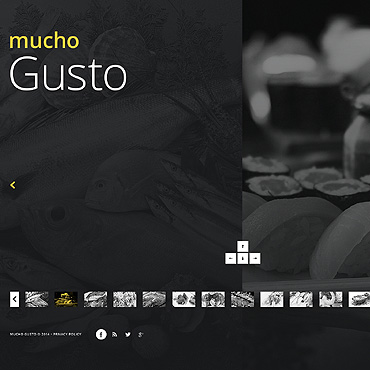 Italian Restaurant Website Template