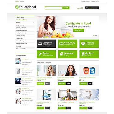 Career Education Responsive PrestaShop Theme