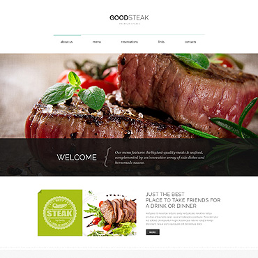 Steakhouse Responsive Drupal Template