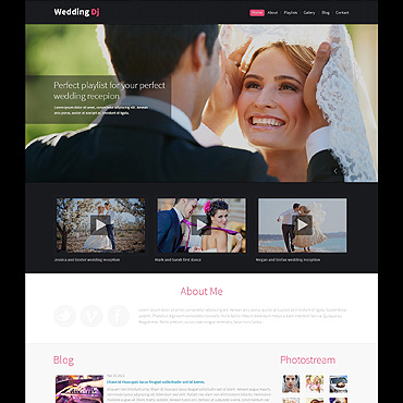 Wedding Planner Responsive Drupal Template