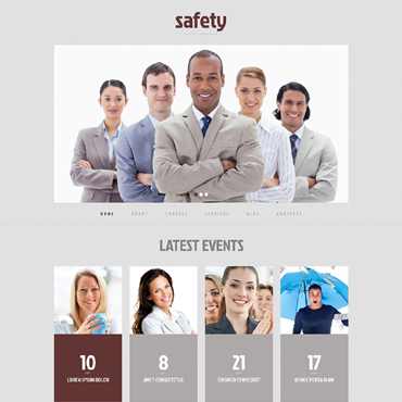 Information Security Responsive WordPress Theme