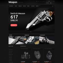 Gun Shop Responsive PrestaShop Theme