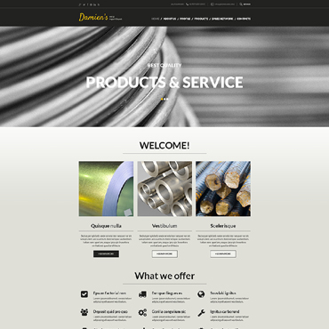 Steelworks Responsive Website Template