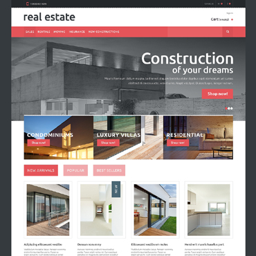 Real Estate Agency Responsive PrestaShop Theme
